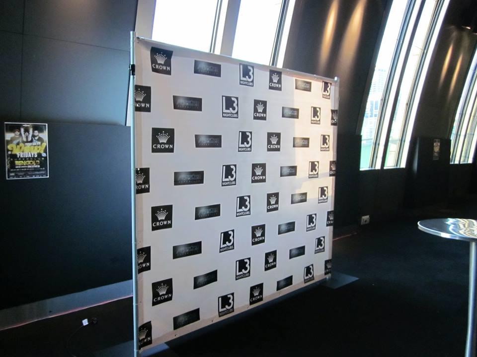 Media Wall Backdrops Feel Good Events Melbourne