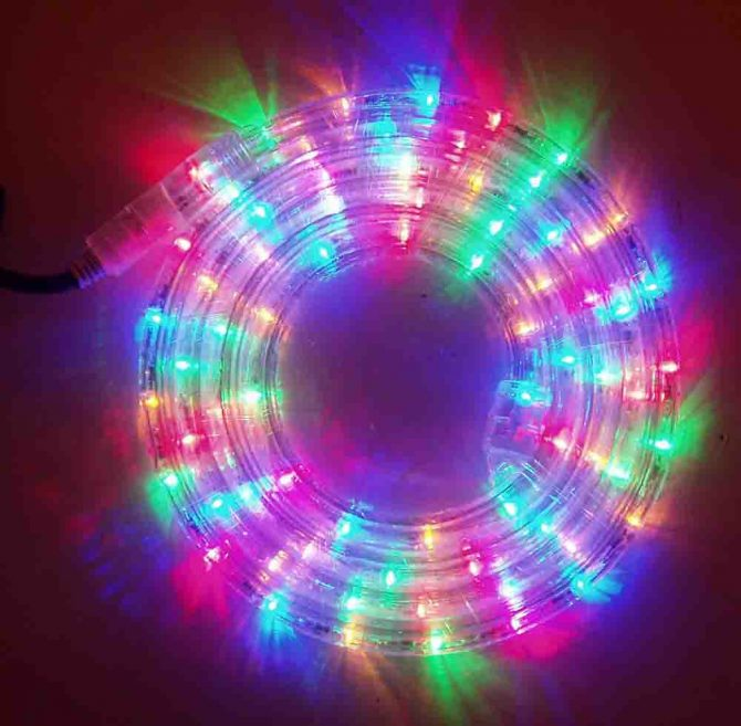Does Lowes Sell Christmas Trees: LED Rope Light Hire