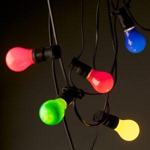 Coloured Festoon Lights