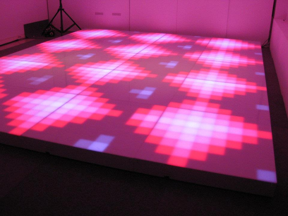 Digital illuminated led dance floor feel good events for 1 2 3 4 get on d dance floor