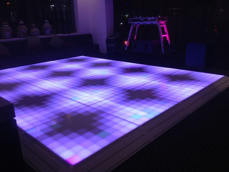 Digital Illuminated Led Dance Floor Feel Good Events