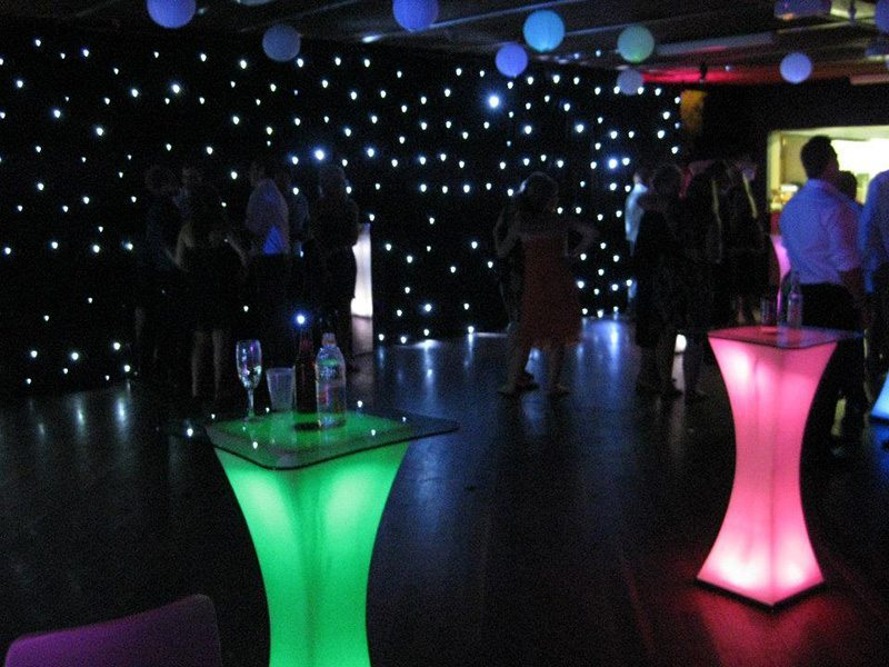 LED star cloth are a great backdrop to any party or stage and will ...