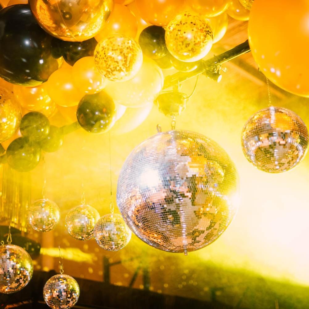 Studio 54 Mirror ball hire disco