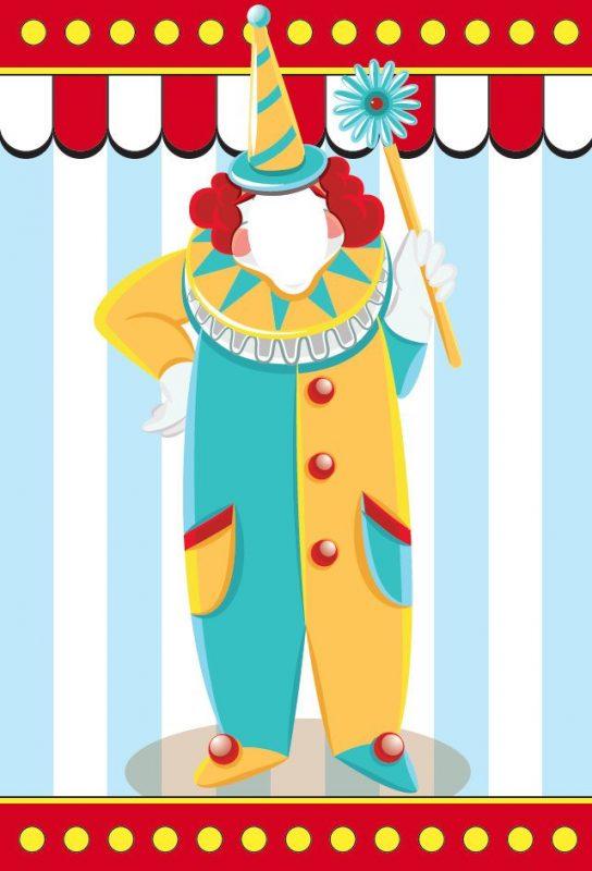 Small Backdrop - Clown