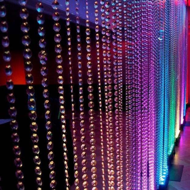 Crystal Beaded Curtain - Detail
