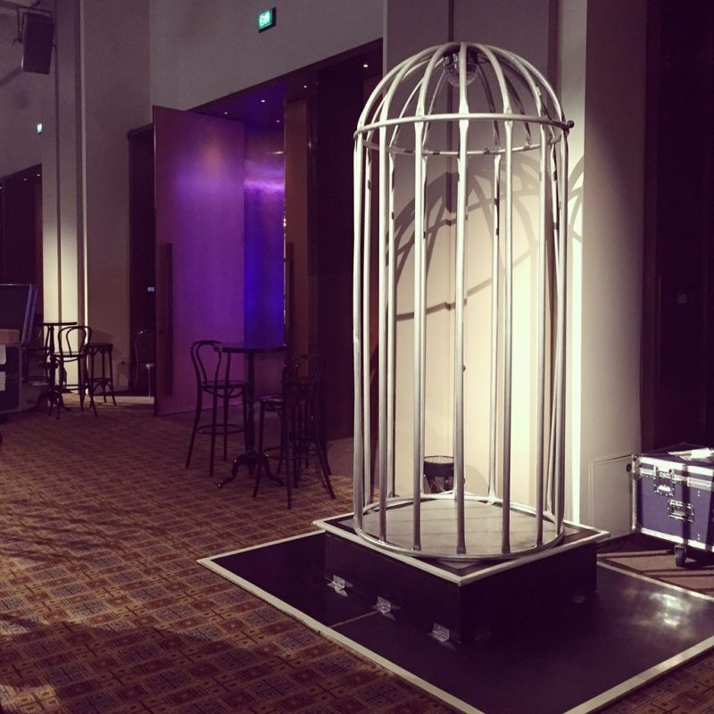 Dance Cage Hire