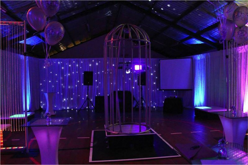 Dance Cage Hire Feel Good Events Melbourne