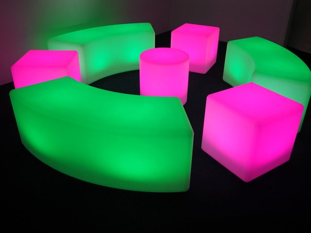 Illuminated Stools