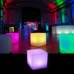 Glow Cube Hire