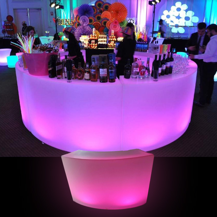 LED Curved Bar
