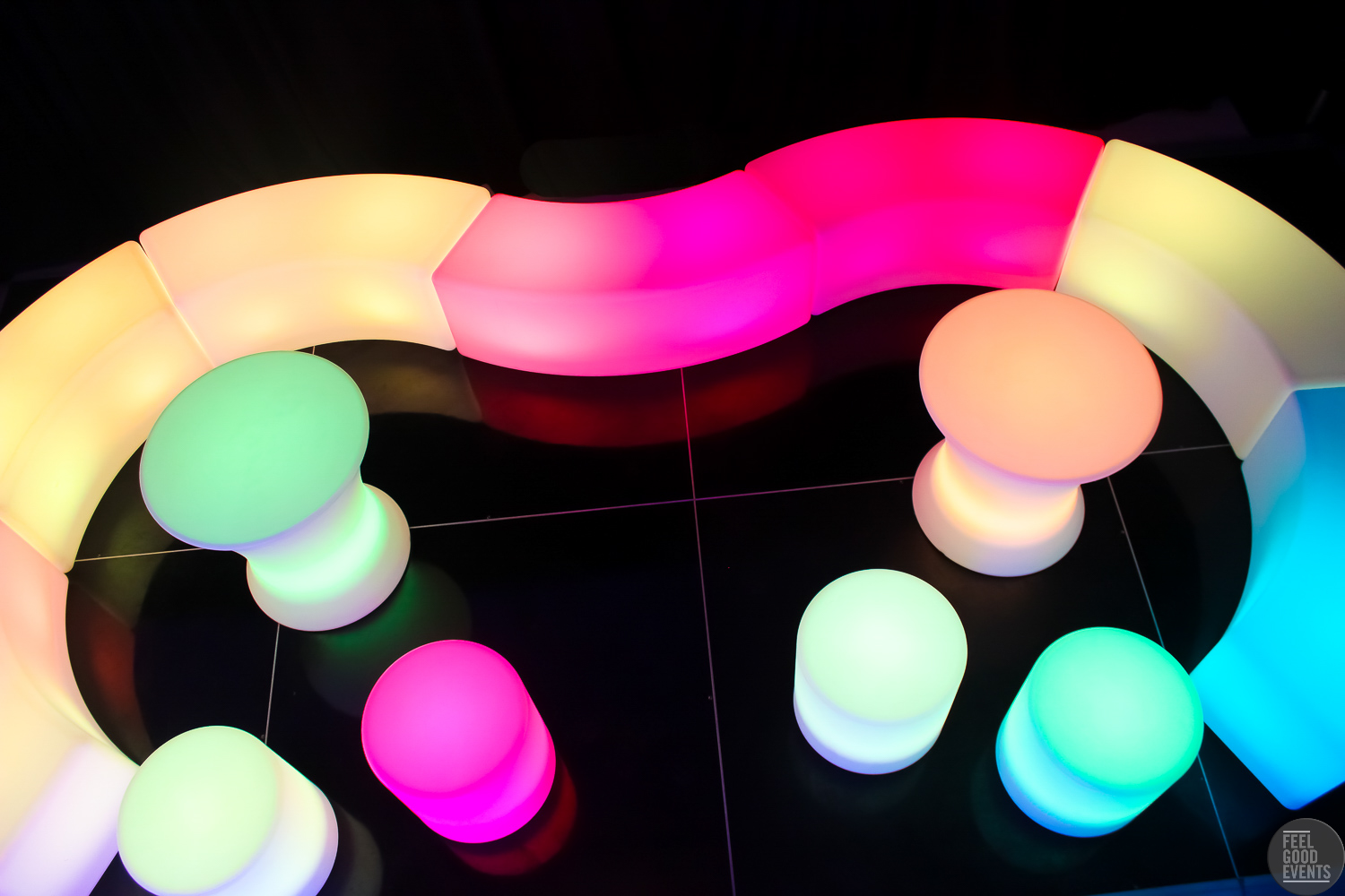 top-view-of-light-coloured-led-furniture-hire-melbourne