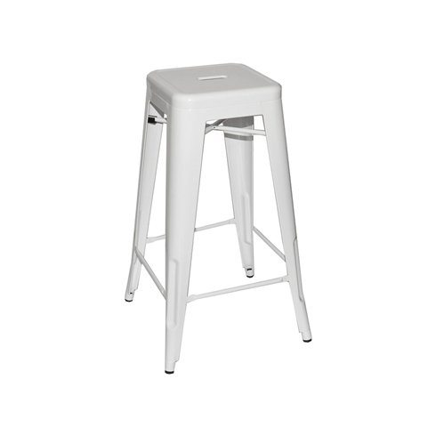 Tall White Bar Stools