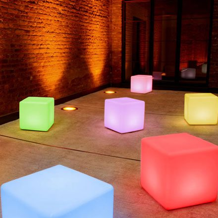 Led Cubes Hire Feel Good Events Melbourne