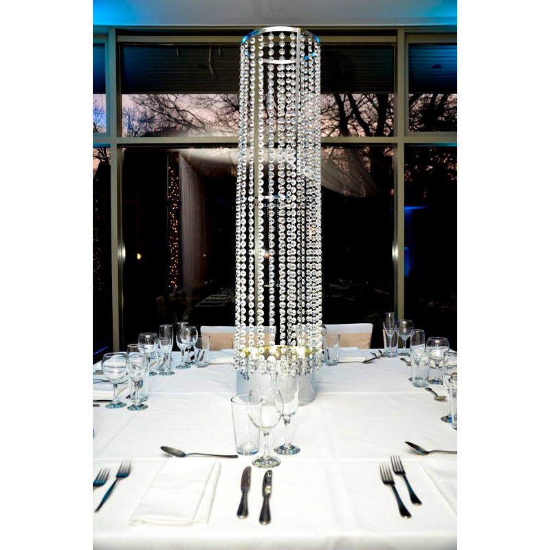 Crystal Beaded Columns Feel Good Events Melbourne