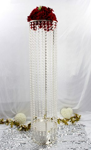 Crystal Beaded Columns Feel Good Events Melbourne