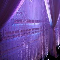 Crystal Beaded Curtain Backdrop for Wedding