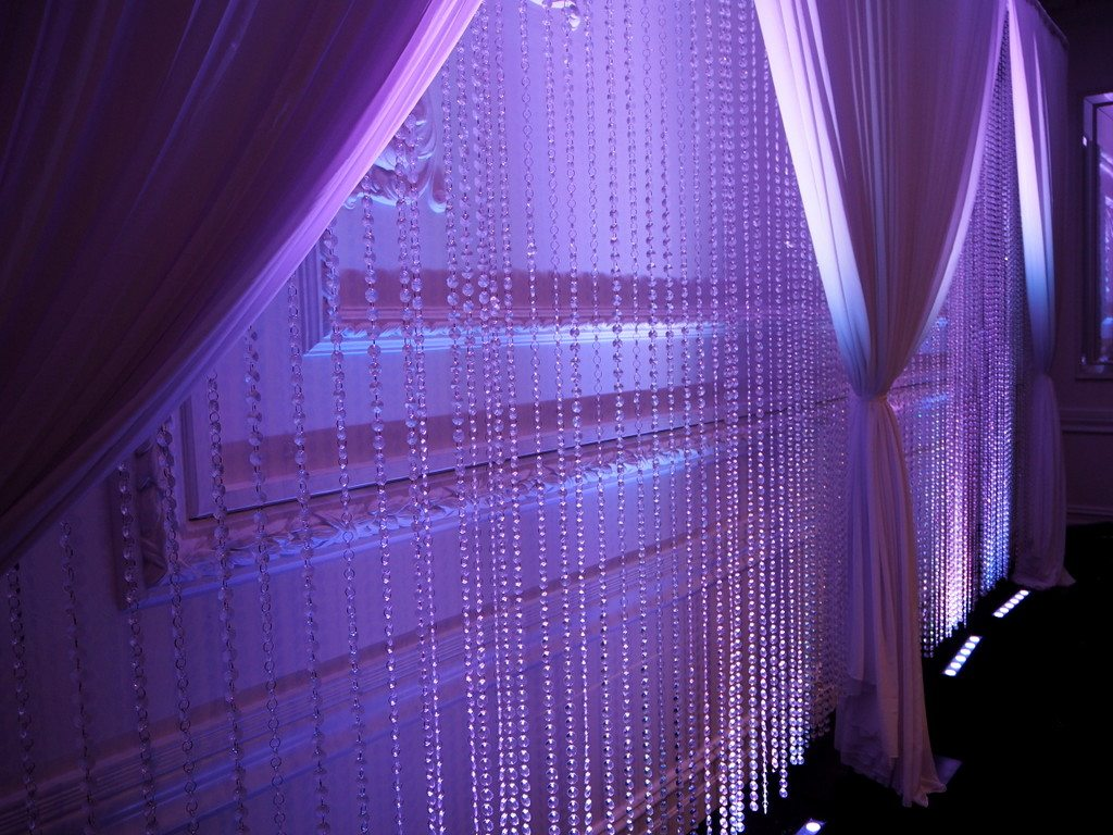 Crystal Beaded Curtain Backdrop Feel Good Events Melbourne