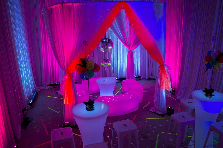 glow furniture 80s theme melbourne 2