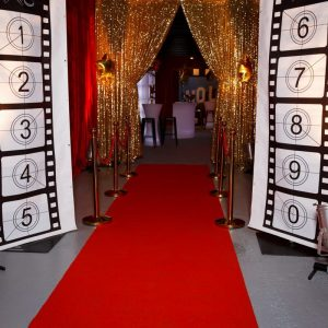 Medium Backdrop - Movie Reel Red Carpet