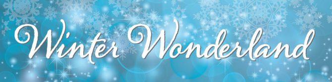 Entrance Banner - Winter Wonderland