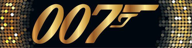 Entrance Banner - 007 Gold Logo