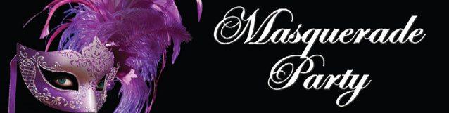Entrance Banner - Masquerade Party