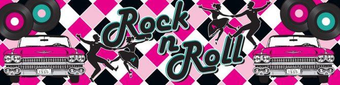 Entrance Banner - Rock n Roll