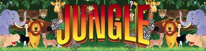 Entrance Banner - Jungle