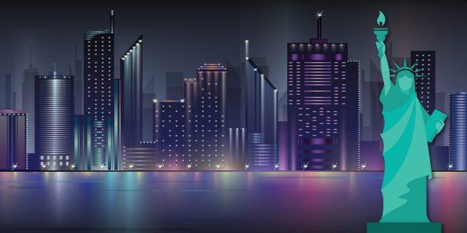 Large Backdrop - NYC Skyline