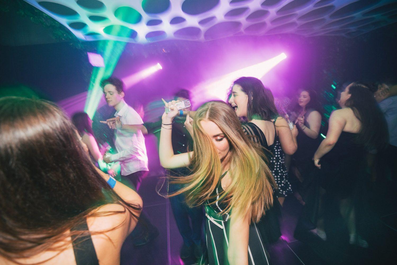 people dancing at jordans 18th birthday