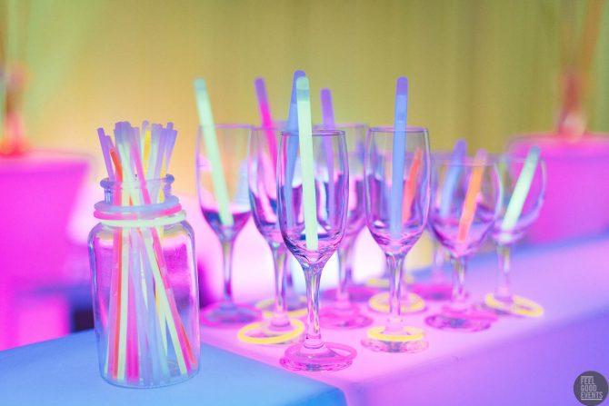 glassware hire melbourne party theme