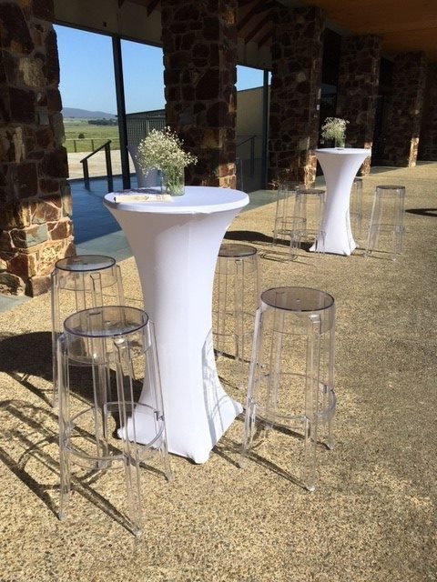 Ghost Bar Stools  Feel Good Events  Melbourne