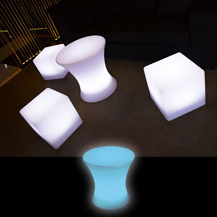 LED Stool Hire