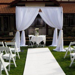 Chiffon Canopy & Wedding Ceremony Backdrops u0026 Canopy Hire | Feel Good Events ...