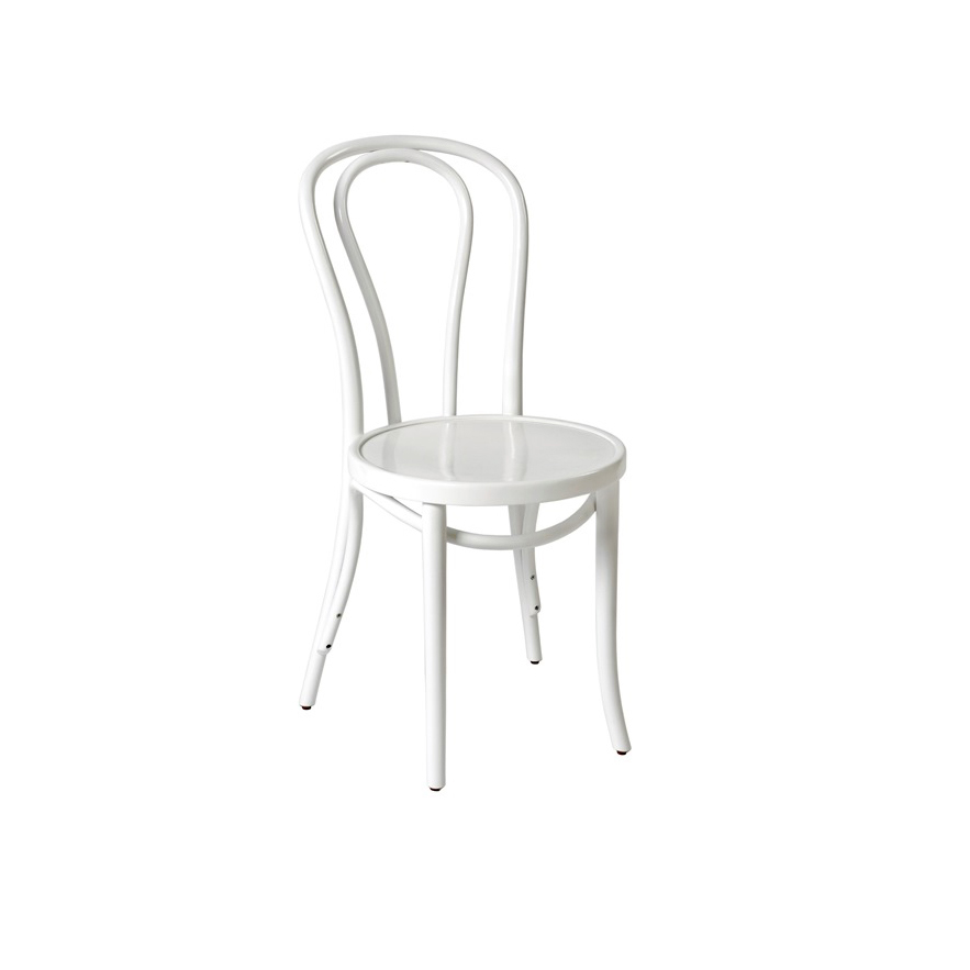 bentwood chair white hire