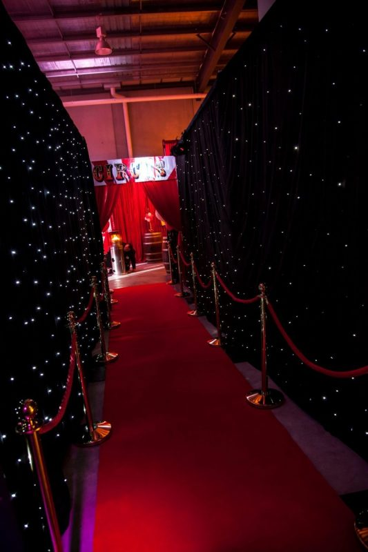 Led Star Cloth Hire Feel Good Events Melbourne