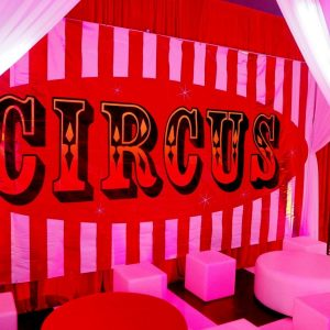 Large Backdrop - Circus