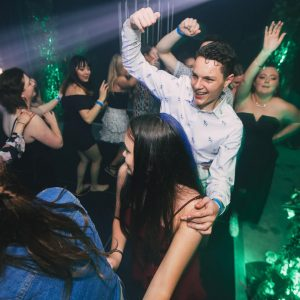 Dancing among jungle theme melbourne party hire