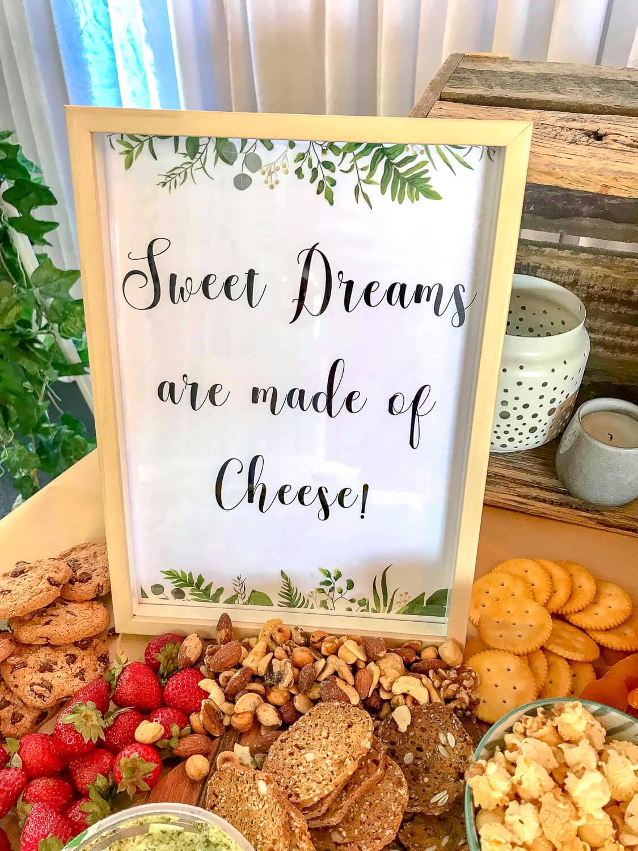 Funny Dessert Table Sign melbourne