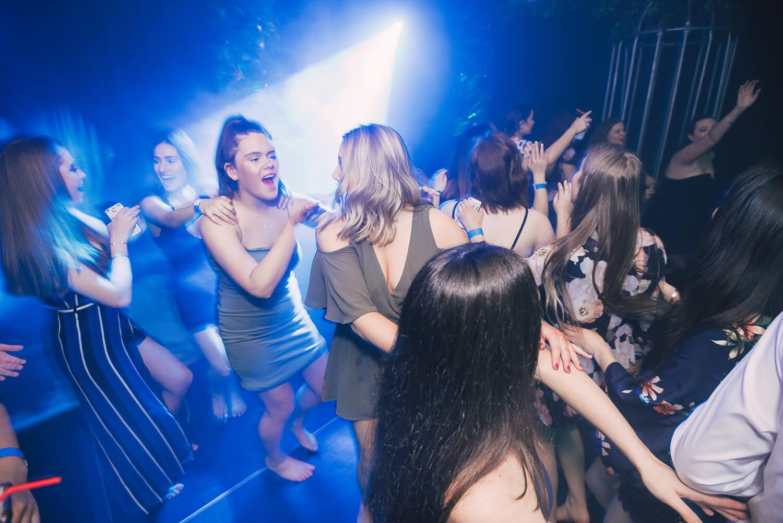 Melbourne Dance Party Jungle Theme Hire Blue Laser Lights