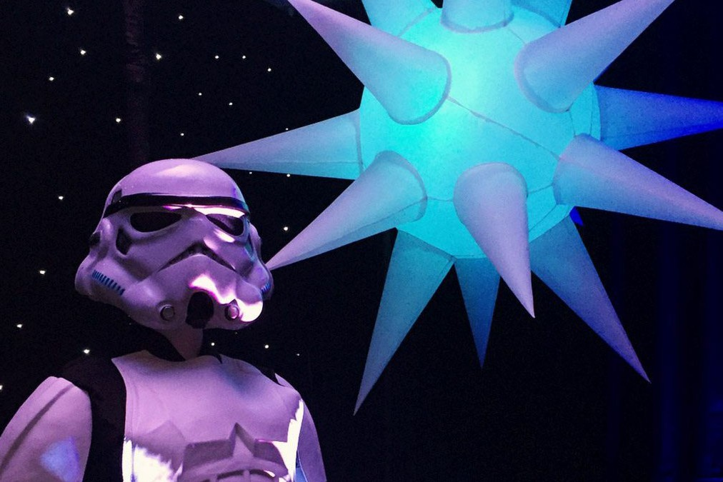 inflatable star