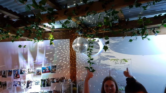 disco ball hire melbourne among vine covered styling products