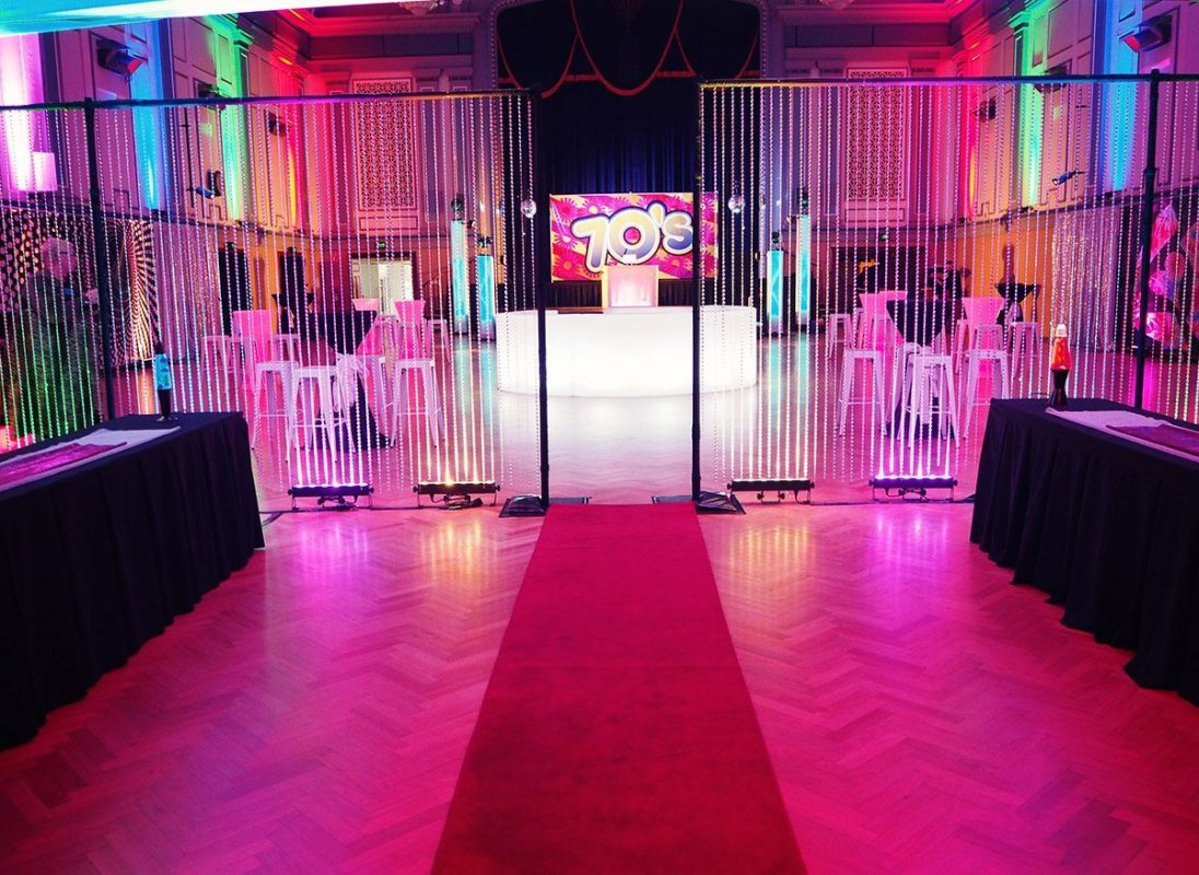 Crystal Beaded Curtain Hire Feel Good Events Melbourne