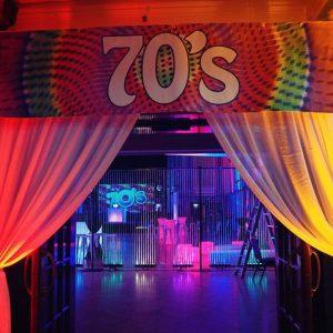 Entrance Banner - 70's