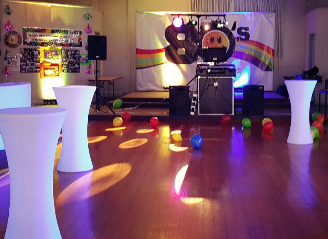 80 39 s theme party equipment hire feel good events melbourne for 1980s party decoration ideas