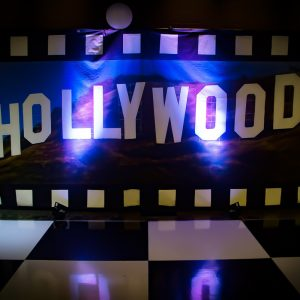 Hollywood Backdrop Hire Melbourne - Hollywood Hills