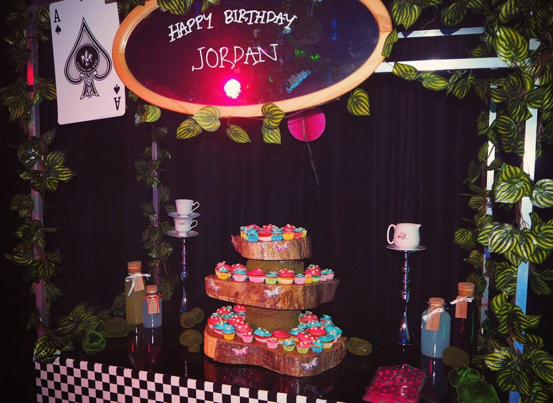 Alice in Wonderland, Food Station, Themed Props, Themed Decor