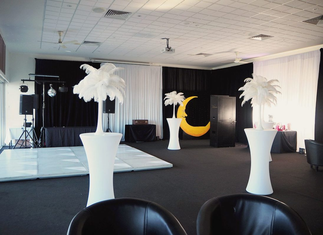 Black White Theme Party Equipment Hire Feel Good Events Melbourne