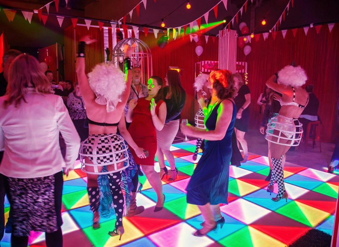 Circus Party Dancefloor Guests