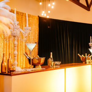 the great gatsby bar set up hire melbourne